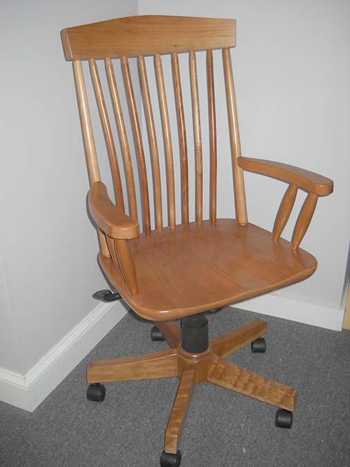 Shaker Furniture Of Maine Delaware Desk Chair