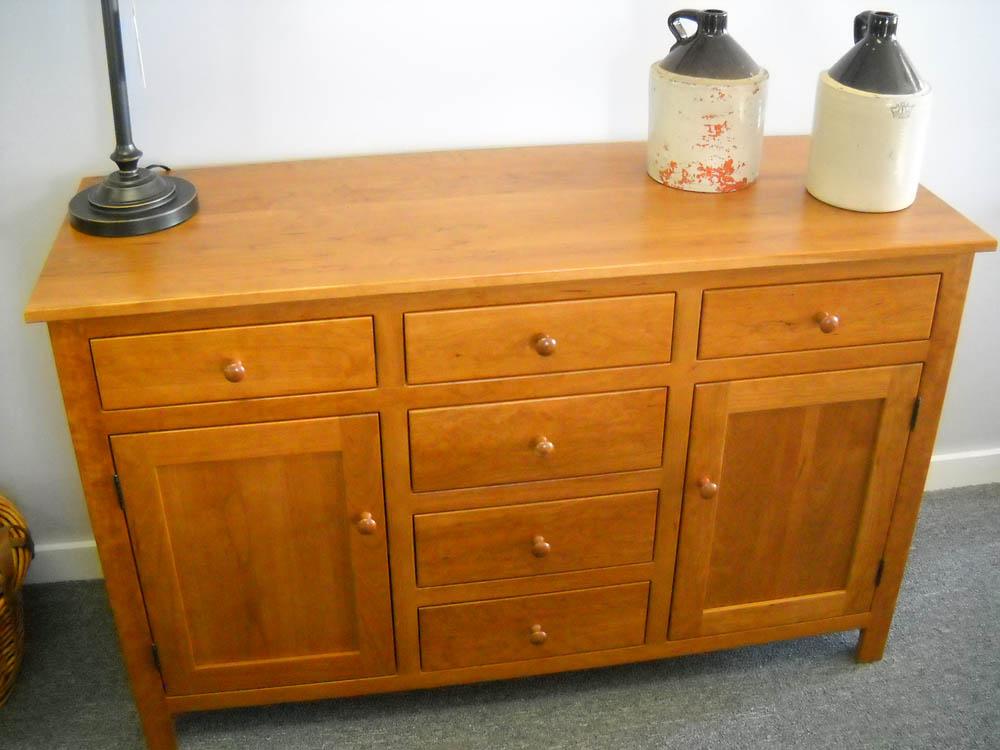 Shaker Furniture Of Maine Cherry Buffet Base
