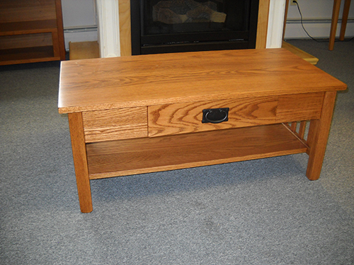 Shaker Furniture Of Maine Oak Mission Coffee Table