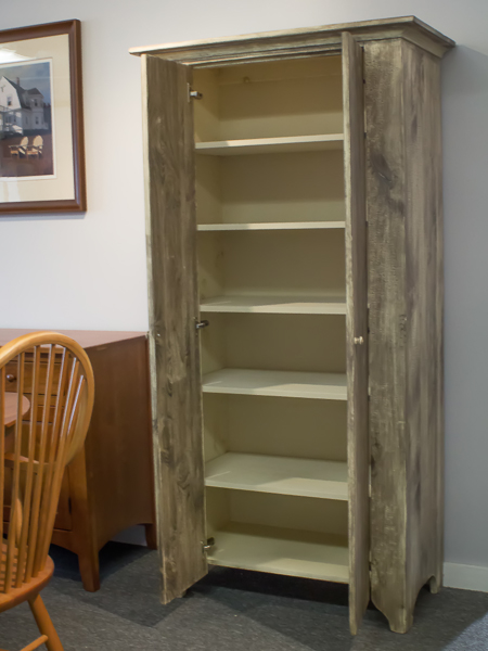Shaker Furniture Of Maine 187 Distressed Finish Pantry