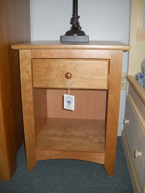 Shaker Furniture Of Maine Cherry Low Side Table
