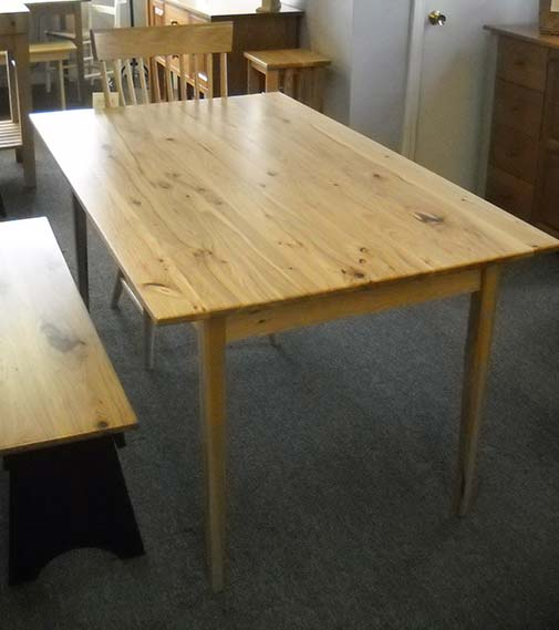 Shaker Furniture Of Maine Hickory Dining Tables