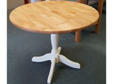 36u2033 ROUND ALDER DROPLEAF TABLE