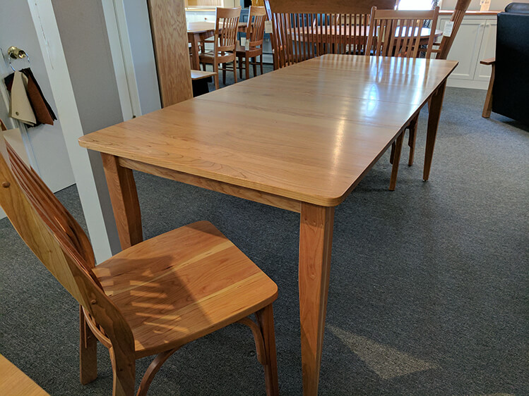 Merveilleux Shaker Furniture Of Maine 187 Cherry Winchester Extension Table