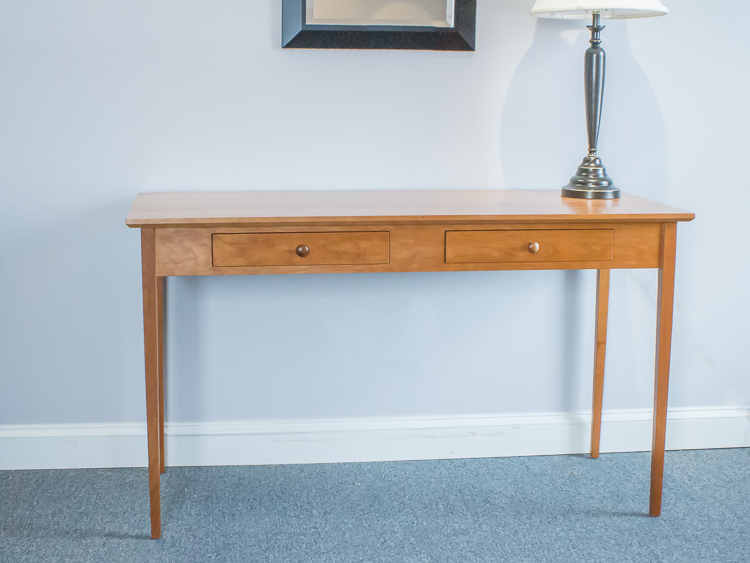 Fantastic Shaker Furniture of Maine » Cherry Shaker Style Writing Table II18
